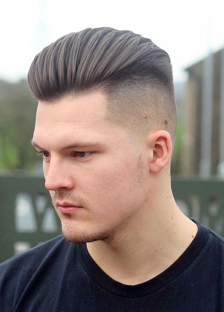 Taglio capelli giovanili uomo