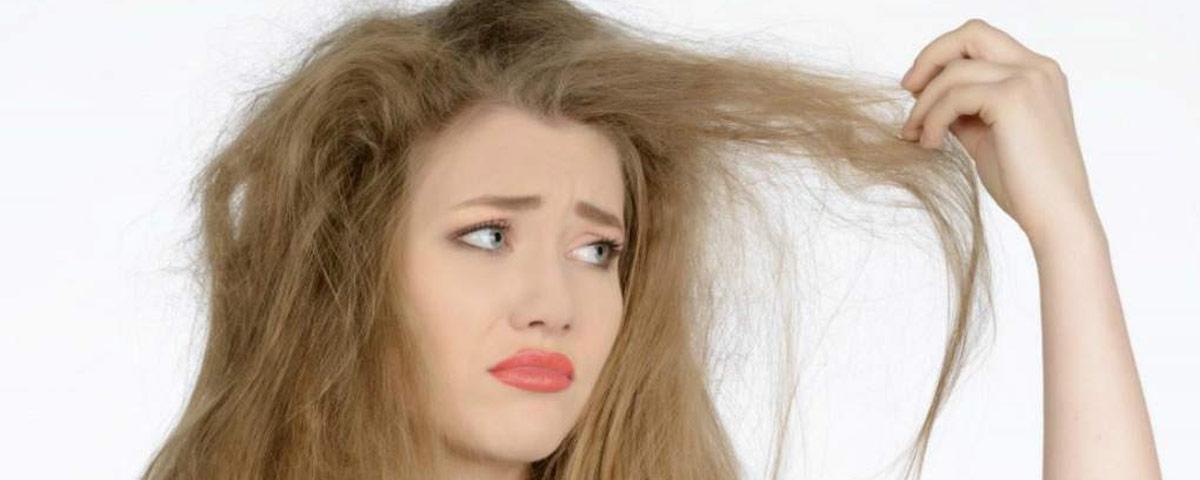 taglio capelli rovinati