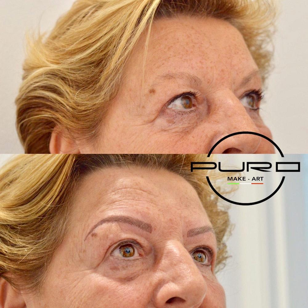 trucco permanente sopracciglia alopecia